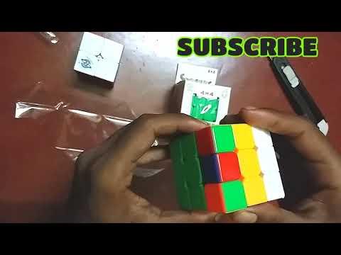 Unboxing | Fullreview rubik cube 2×2,3×3,4×4,5×5
