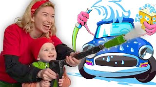 Car Wash Song   Nursery Rhymes   Kids song   MarkLand