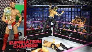 WWE ACTION FIGURE SETUP! ELIMINATION CHAMBER EDITION!