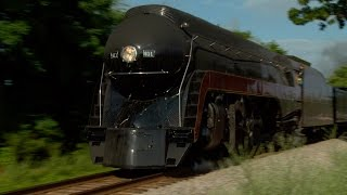 Norfolk and Western J 611: Choo Choo Bob's Train of the Day