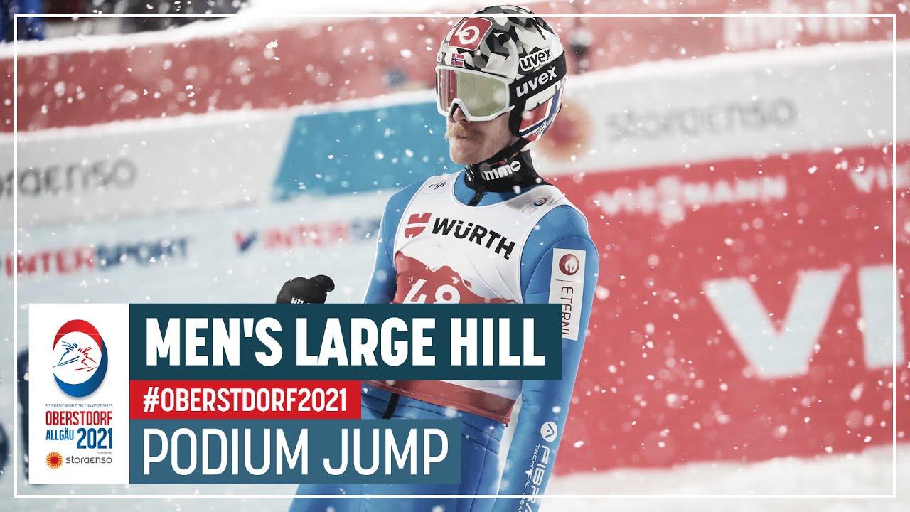Robert Johansson | Silver | Men's Large Hill | 2021 FIS Nordic World Ski Championships