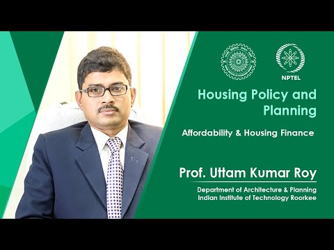 Lecture 11- Affordability & Housing Finance