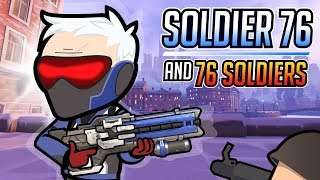 Soldier 76 and The 76 Soldiers / Overwatch Animation