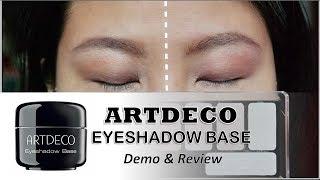 Artdeco Eyeshadow Base Primer Review ft Catrice Cosmetics Eyeshadow Palette
