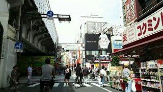 《乗り換え》メトロ日比谷線、仲御徒町駅からJR山手線、御徒町駅へ。 Naka-okachimachi