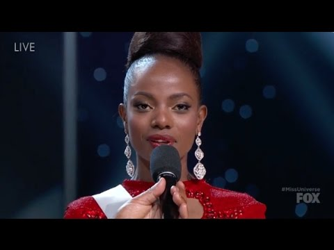 Miss Kenya Asked About Trump at Miss Universe Pageant