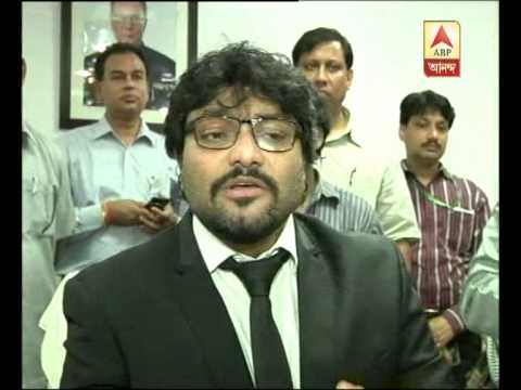 Babul Supriyo after taking charge of Urban development ministry