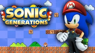 Sonic Generations World 1-1 - Walkthrough