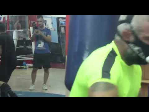 Boxing training coach serdarfyasar özkan power training