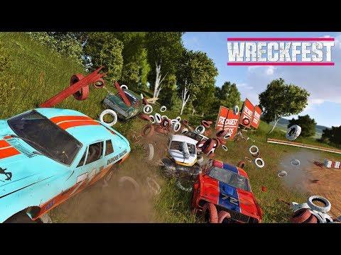 WRECKFEST ★ Community Rennen ★ Live #05 ★ PC Multiplayer Gameplay Deutsch German