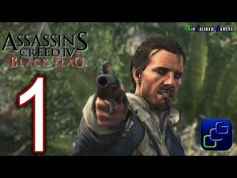 Assassin's Creed IV: Black Flag Walkthrough - Part 1 - Cape Bonavista ALL synchronize locations