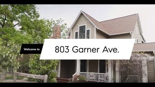 Craftsman home + guest cottage at 803 Garner for sale