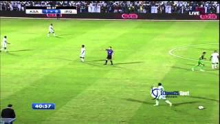 x202b جنون المعلق في مباراة العراق والسعودية 2013  x202c  lrm  hd720