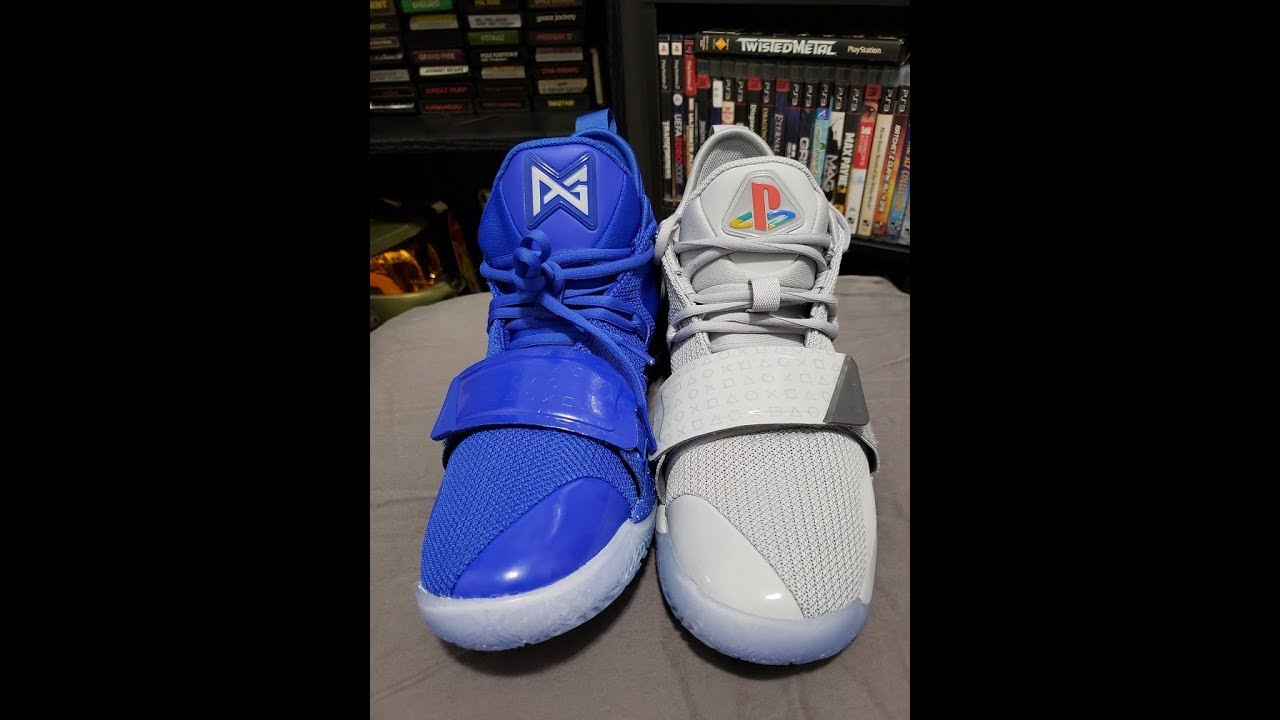 cheap for discount 31bef df0b8 PG 2.5 Playstation shoes - Which is better, Grey or Blue ?