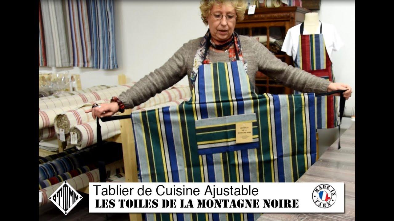 Tablier de Cuisine Fabriqué en France