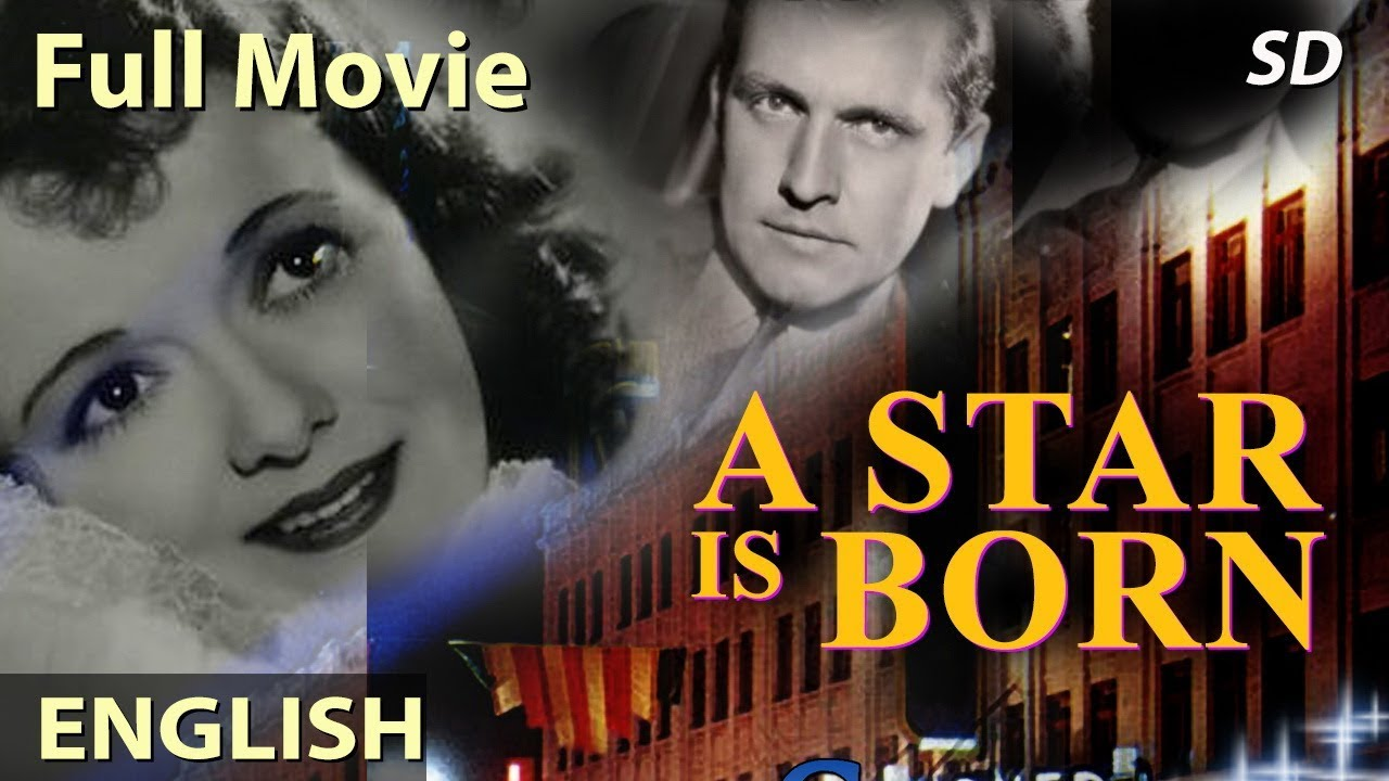 A STAR IS BORN (1937) Full English Movies | Classic Romantic English Movies | Hollywood Movies