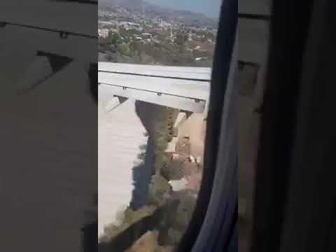Relato del momento que vuelo de Copa se eleva de nuevo por mal aterrizaje en Toncontin
