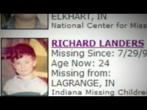 Missing Boy Found as Grown, Married Man: Richard Landers Found at Age 24
