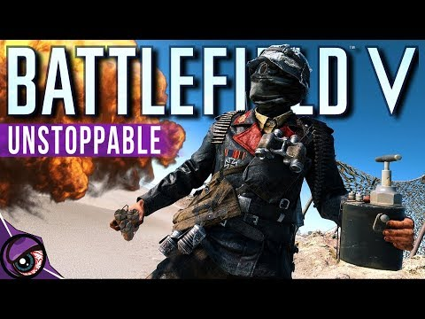 This Dude Is A BEAST On BATTLEFIELD 5 thumbnail