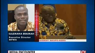 Media Encounter - News Desk On Joynews 13-12-19