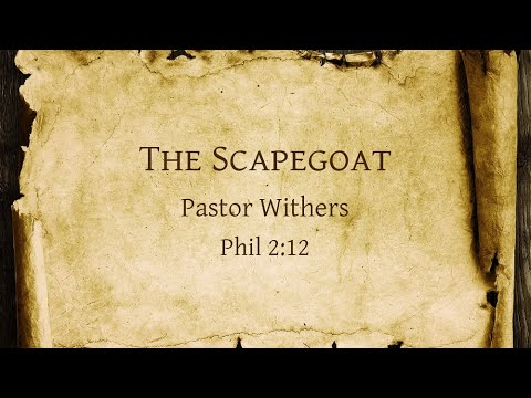 The Scapegoat (1/24/2021)