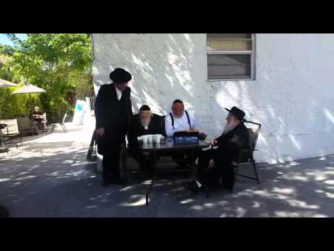 """Auschwitz .to learning in Miami Torah 2016 """" moses and the Rabbi pinchus pinchs gold"""