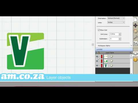 Demonstrating Vinyl Cutting Software Features and VinylCut Craft Design