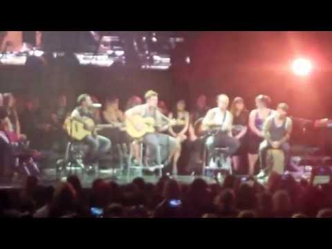 Backstreet Boys- Talking & Singing Acapella- In a World Like this Tour (Vancouver)