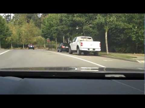 Issaquah Highlands - driving through the neighborhood (sunny afternoon)