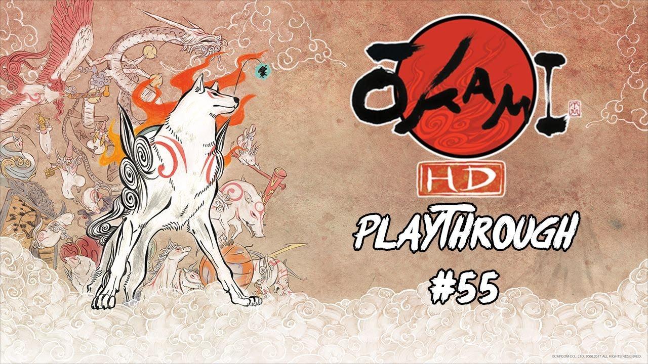 okami hd playthrough 55 vs owls youtube