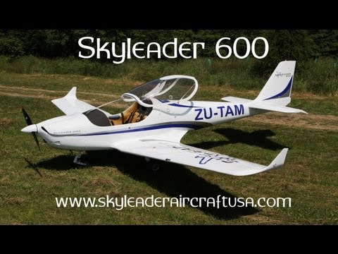 Skyleader Aircraft, Skyleader 600 light sport aircraft at E.A.A. Airventure 2013