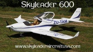 Skyleader Aircraft, Skyleader 600 light sport aircraft at E.A.A. Airventure 2013