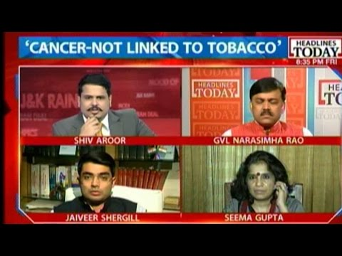 BJP MP Claims No Link Between Tobacco And Cancer