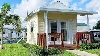 Beautiful The 200-sq.-ft. Tiny House Rental In Sebring, Florida | Living Design For A Tiny House