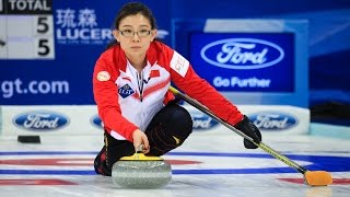 HIGHLIGHTS: Denmark v China - CPT World Women's Curling Championship 2017