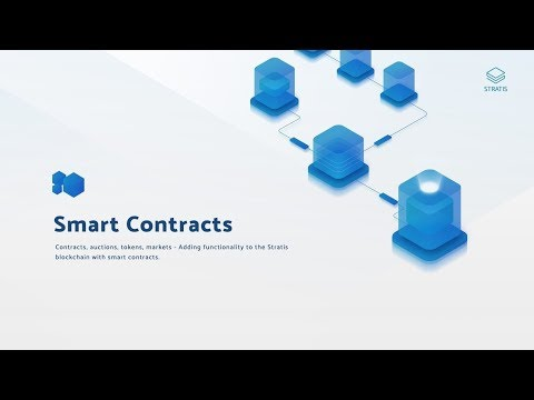 STRATIS MAKES SMART CONTRACT ANNOUNCEMENT