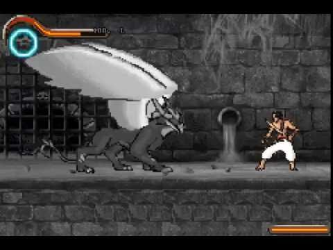 Prince Of Persia The Sands Of Time Gba 100 Improved Sand Griffin 1 Youtube