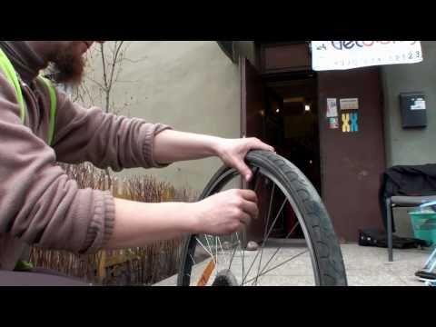 15min.lt - Prakiurusios dviračio padangos kameros keitimas, tvarkymas