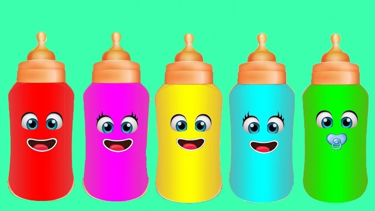 Baby Bottle Finger Family Nursery Rhyme For Babies L Baby Bottle