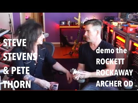 STEVE STEVENS & PETE THORN demo the Rockaway Archer OD
