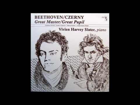 Carl Czerny: Piano Sonata No. 10 In B-flat Major, Op. 268. Vivien Harvey Slater, Piano