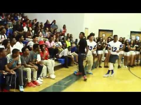 DCYOUNGFLY at NORTH CLAYTON HIGH SCHOOL @dcyoungfly @lantbo @lilsilk