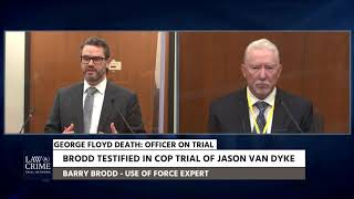 Use of Force Expert Testifies Chauvin Was 'Justified' in His Actions
