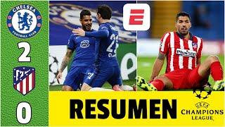 Chelsea 2-0 Atlético de Madrid. ¡A CUARTOS DE FINAL! Simeone y Luis Suárez, FUERA | Champions League