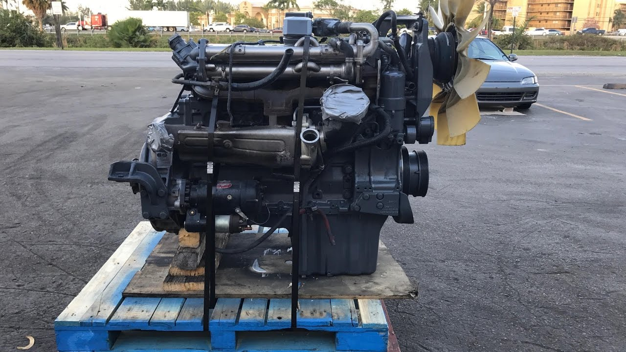 Mercedes benz om926la diesel engine for sale test run for Mercedes benz diesel engines for sale