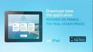 French Notaire are launching their Smartphone application !