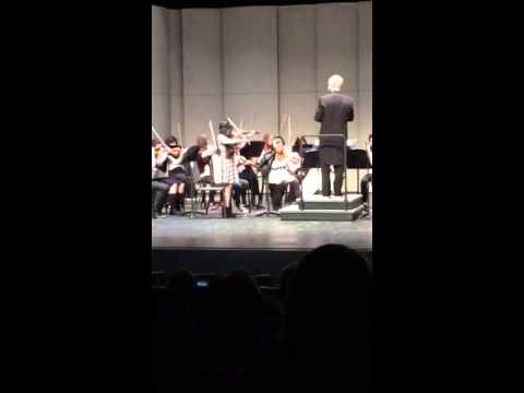 Kodiak Middle School Spring Orchestra Concert, Lacey's solo