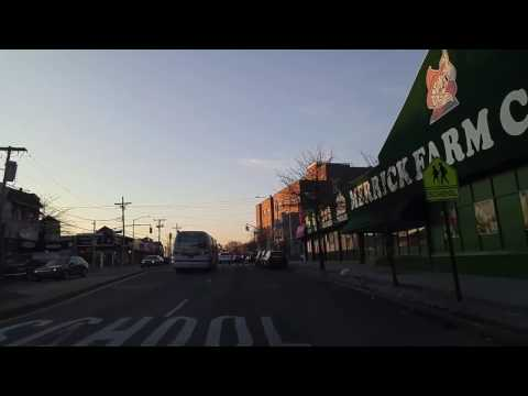 Driving from Rosedale to Cambria Heights Queens,New York