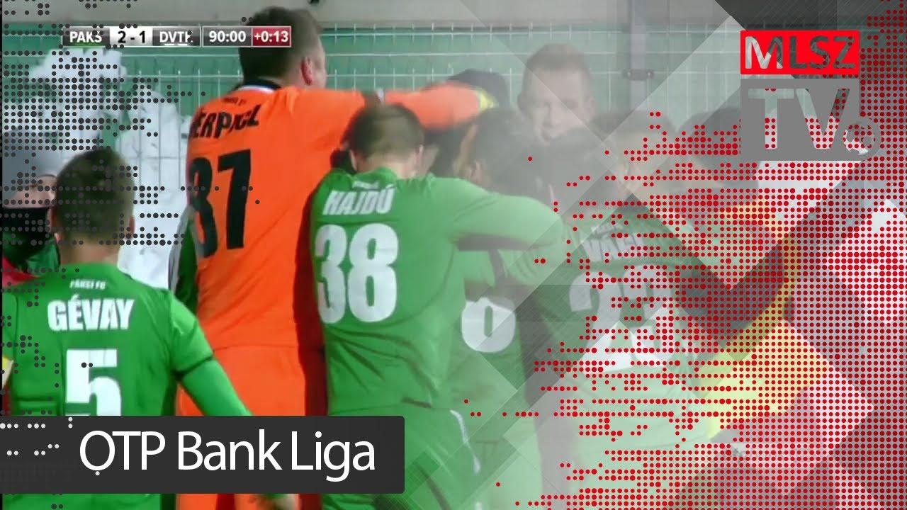 Haraszti Zsolt gólja a Paksi FC - DVTK mérkőzésen