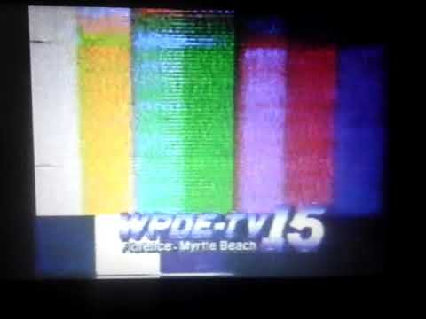 WPDE-TV Channel 15 (American Broadcasting Company) Florence, South Carolina  1988 Station Sign-On